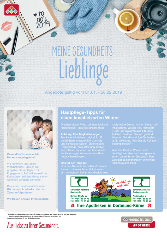 Coupon-Flyer Januar / Februar 2019